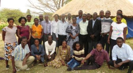 CHW groepsfoto cursus Community Health web